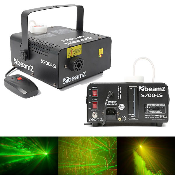 S700-LS Smoke Machine + Laser RG