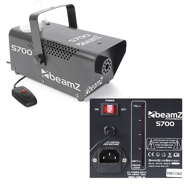 S700 Smoke Machine including fluid