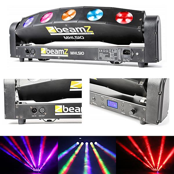 MHL510 Color Sweeper 5x 10W Quad LED