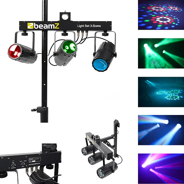 3-Some Light Set 3x 57 RGBW LEDs