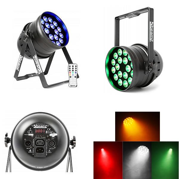 BPP205 LED Par 64 18x 15W 5-in-1 LEDs