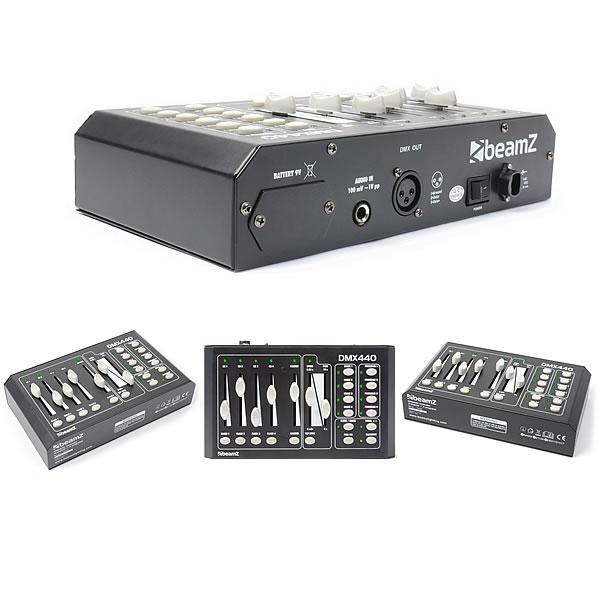 DMX440 Controller 4-Channel + 4 Programs