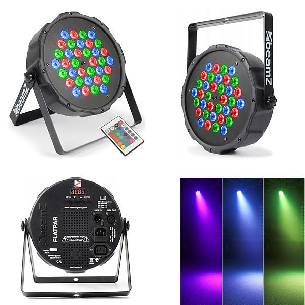 FlatPAR 36x 1W RGB LEDs