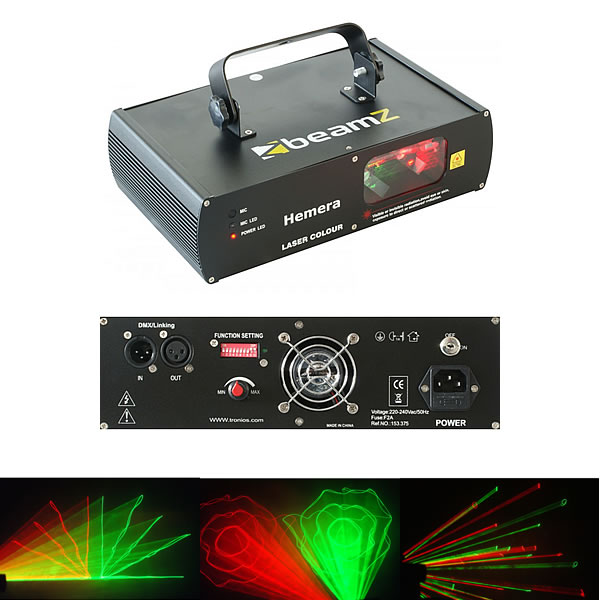 Hemera Muliticolor Laser RGY DMX