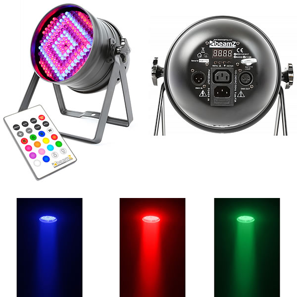 LED Par 64 176x 10mm RGB LEDs