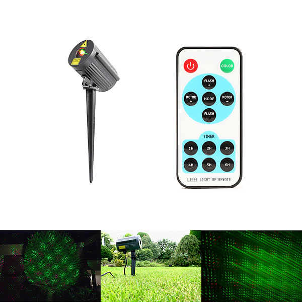 Laser IP65 Outdoor with remote Red & Green