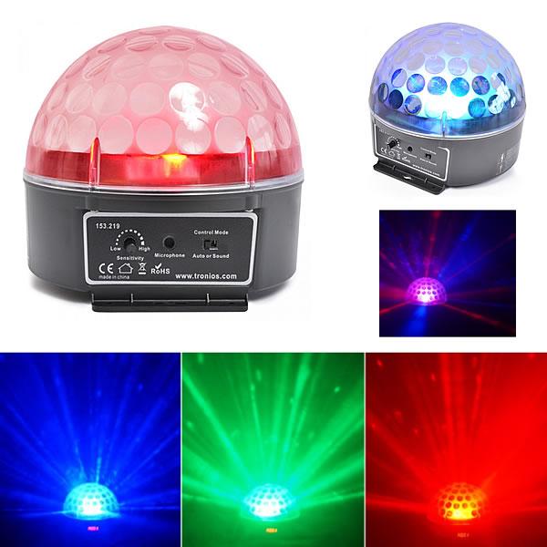 Magic Jelly DJ Ball 3x 3W RGB