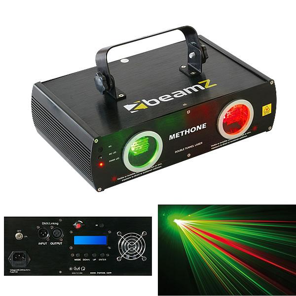 Methone 3D Laser Red Green DMX