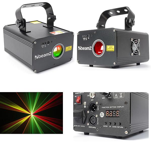Oberon Laser RGY DMX 225mW