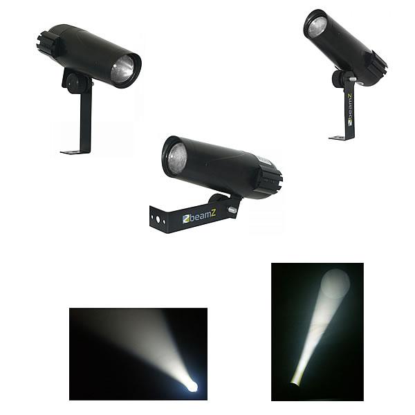 PS6W Pin Spot 6W White LED