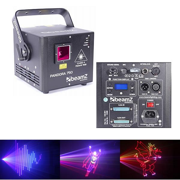 Pandora 750 TTL Laser RGB 30kpps