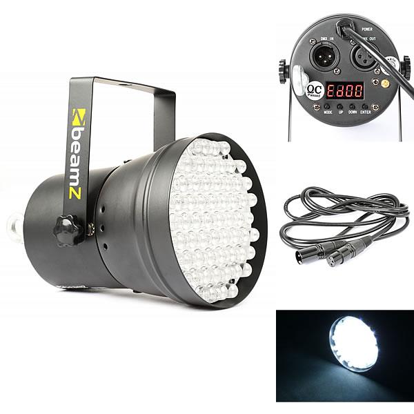 Par 36 Spot 55x 10mm White LEDs