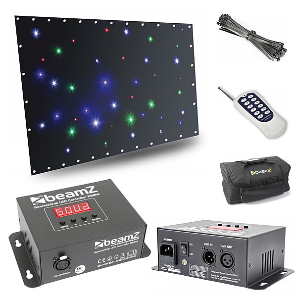 SparkleWall LED36 RGBW 1x 2m with controller
