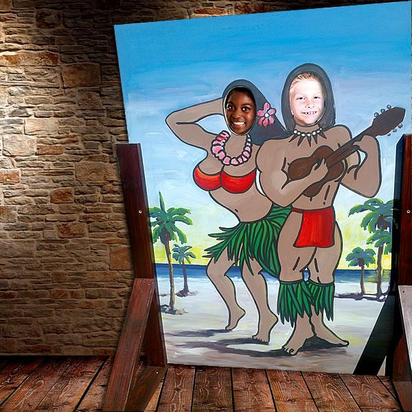 beach-hawaiian-cutout-photo-hire