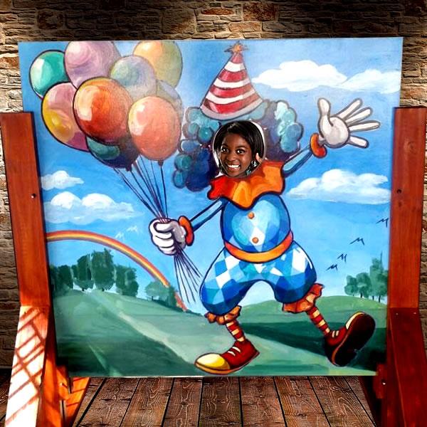 clown-balloons-cutout-photo-hire2