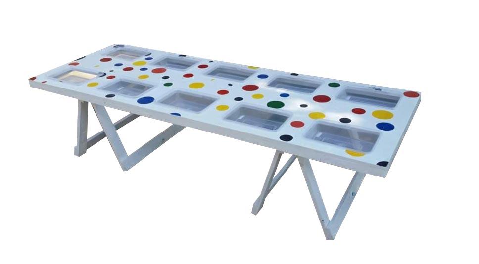 Kids sand art table